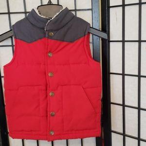 Boys size 6 vest